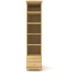 Regał sosnowy R01 45x190x42 cm