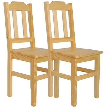 Krzesło sosnowe PUNO - komplet
