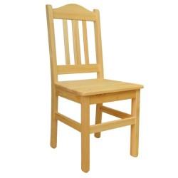 Krzesło sosnowe BURON