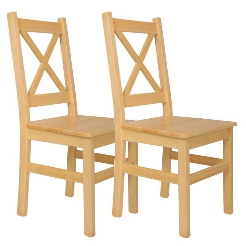 Krzesło sosnowe ALAT - komplet