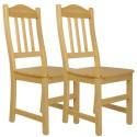 Krzesło sosnowe COLIN - komplet