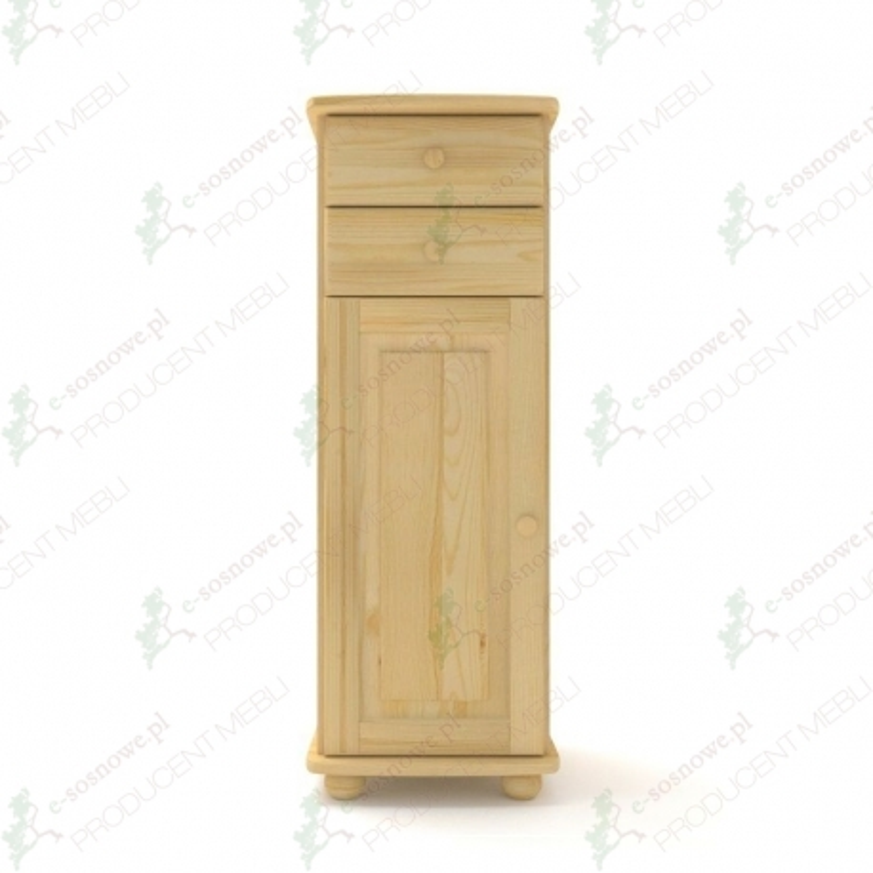 Komoda sosnowa K37 45x124x42 cm