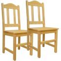 Krzesło sosnowe TAPUR - komplet