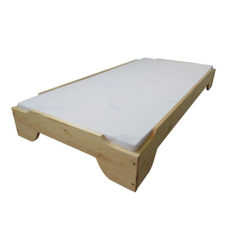 Łóżko sosnowe Kappa