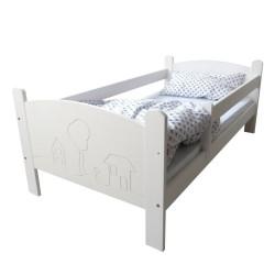 Łóżko dziecięce Domki białe
