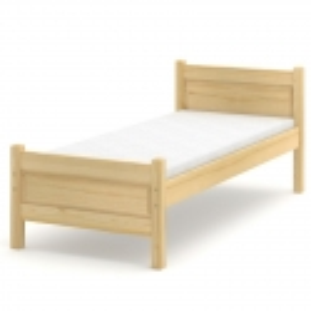 Łóżko sosnowe Beta