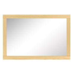 Lustro sosnowe 120x40-80 cm
