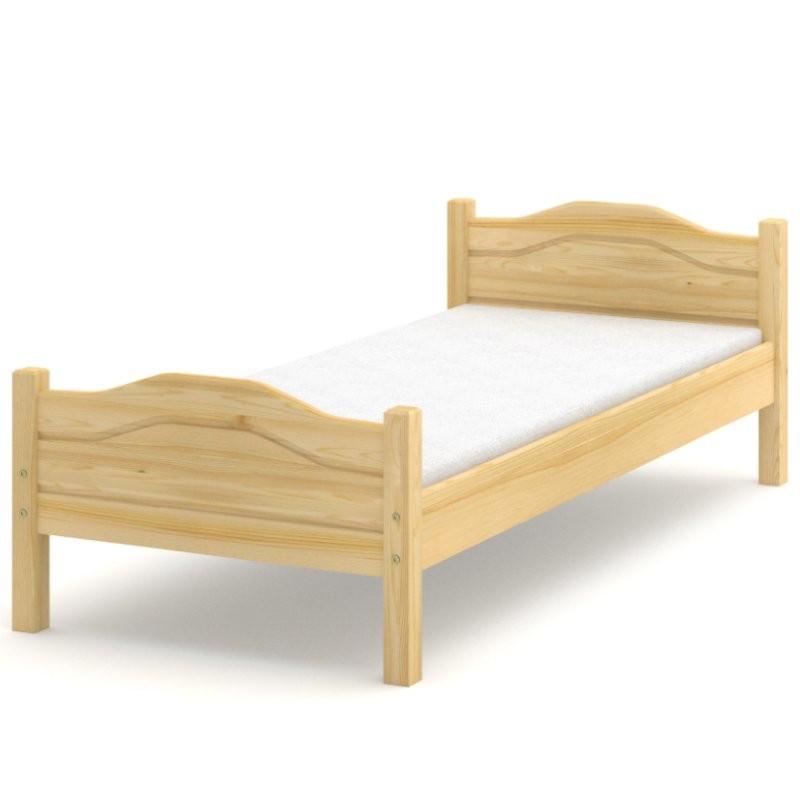Łóżko sosnowe Gama