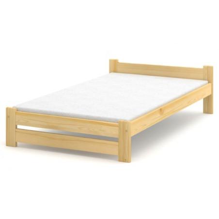 Łóżko sosnowe Lambda