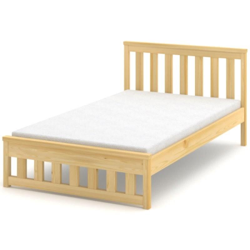 Łóżko sosnowe Lubana