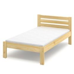 Łóżko sosnowe Classic Plus (wysokość +10 cm)