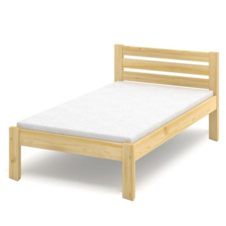 Łóżko sosnowe Classic Max (wysokość +15 cm)